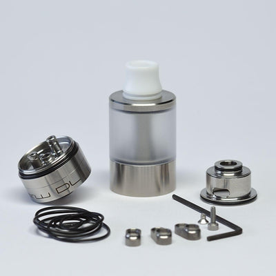 Dvarw V2 Style DL RTA Atomizer w/ Airflow Control Sets 1:1 Clone - Downtown Vapoury