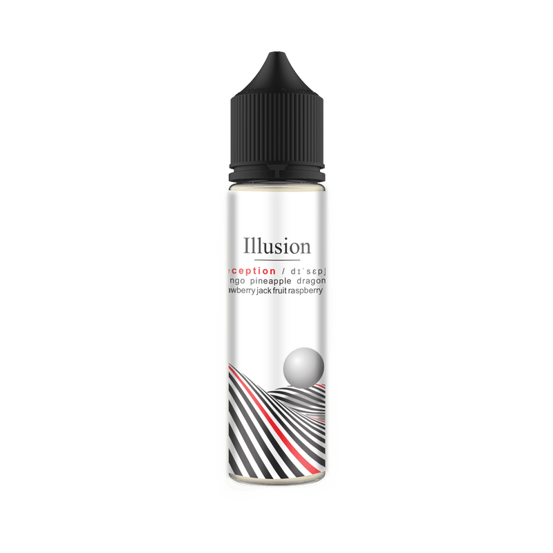 Wicked Wicks E-Liquid - Illusion Deception 60ml - Downtown Vapoury