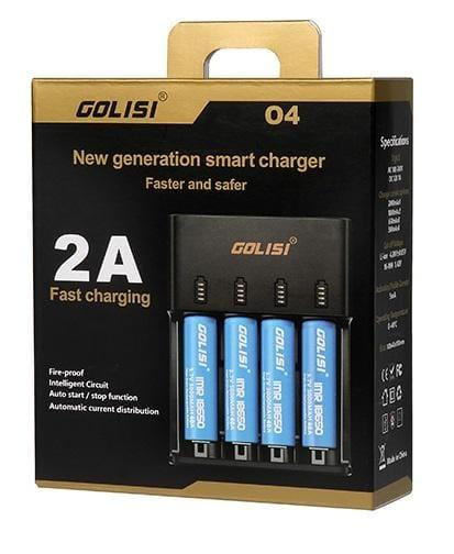 Golisi 04 Smart Charger - Downtown Vapoury
