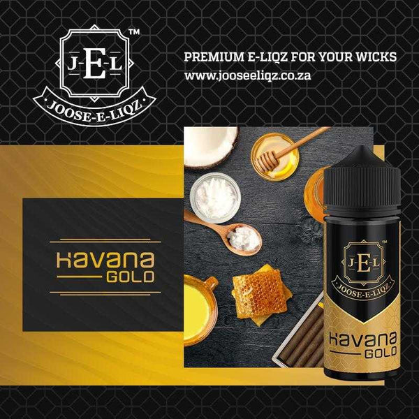 Joose-E-Liqz Havana Gold 60ml - Downtown Vapoury