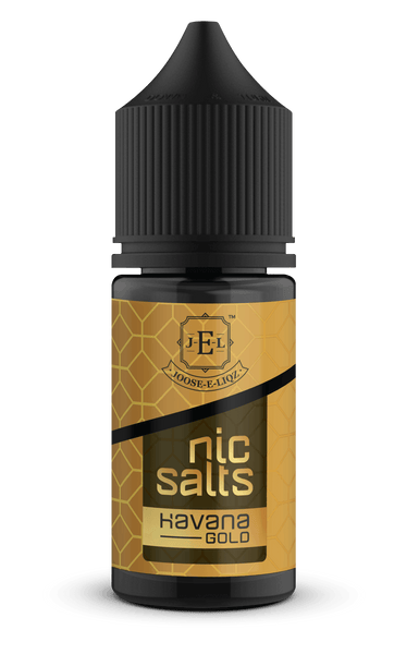 Joose-E-Liqz Havana Gold Nic Salts 30ML - Downtown Vapoury