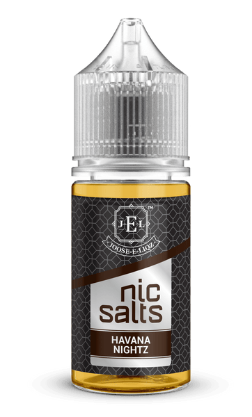 Joose-E-Liqz Havana Nightz Nic Salts 30ml - Downtown Vapoury