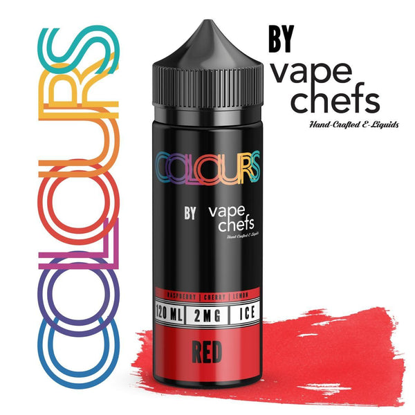 Colours By Vape Chefs Red 120ml