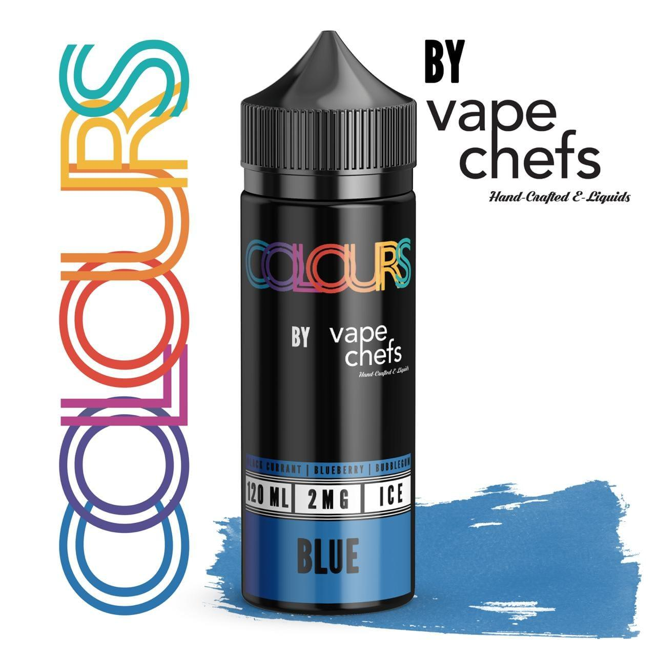Colours By Vape Chefs Blue 120ml - Downtown Vapoury