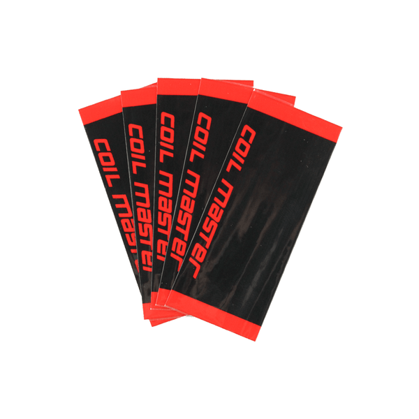 Coil Master 10Pcs 18650 Battery Wraps Heat Shrink PVC Tubing - Downtown Vapoury