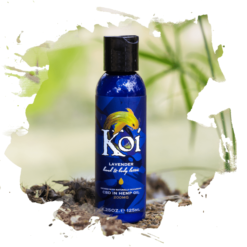 Lavender Koi - CBD Hand & Body Lotion - Downtown Vapoury