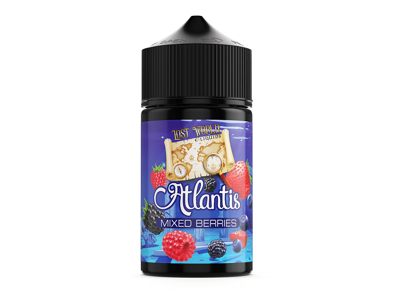 Lost World Atlantis Mixed Berries 75ml