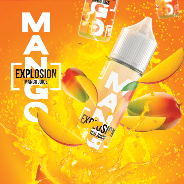 Mango Explosion-Mango Juice 120ml - Downtown Vapoury