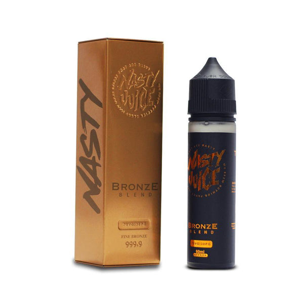 Nasty Juice Tobacco Bronze Blend 60ML - Downtown Vapoury
