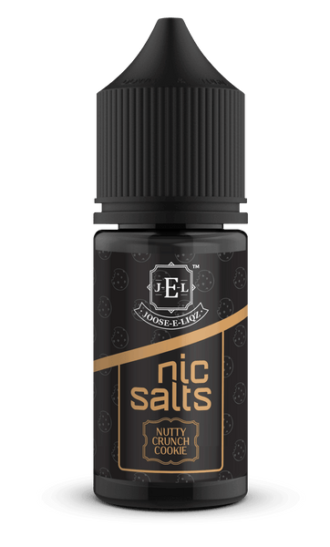 Joose-E-Liqz Nutty Crunch Cookie Nic Salts 30ML - Downtown Vapoury