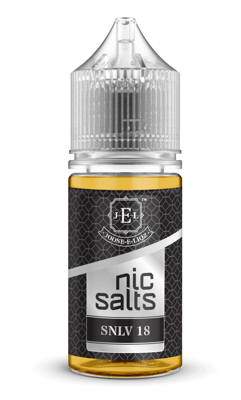 Joose-E-Liqz SNLV 18 - Nic Salts 30ml - Downtown Vapoury