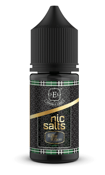 Joose-E-Liqz Toffee D'Luxe Mint Nic Salts 30ml - Downtown Vapoury