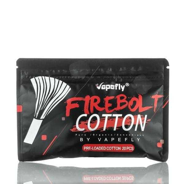 The Vapefly Firebolt Organic Cotton