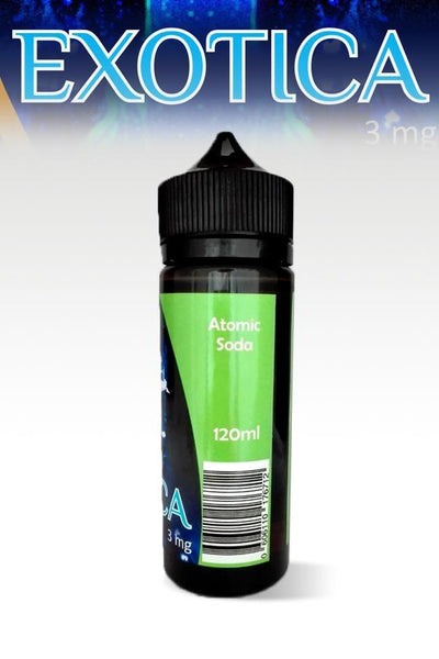 Exotica Atomic Soda 120ml - Downtown Vapoury