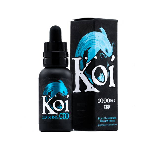 Koi Blue Raspberry Dragonfruit 1000MG CBD