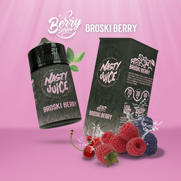 Nasty Berry Broski Berry 60ML - Downtown Vapoury