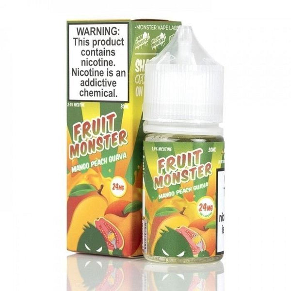 Fruit Monster Mango Peach Guava 30ml (Nic Salt) - Downtown Vapoury