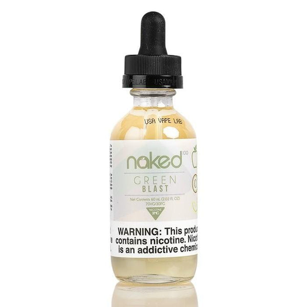 GREEN BLAST - NAKED 100 - 60ML - Downtown Vapoury