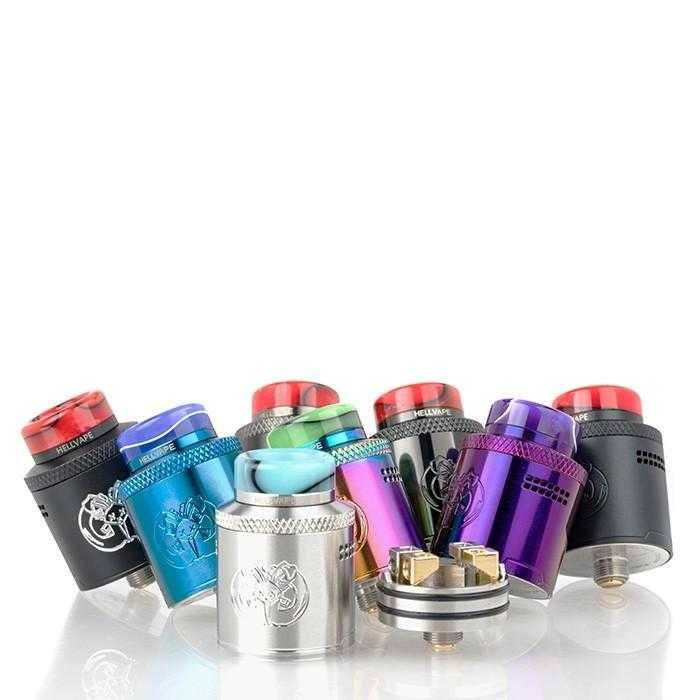 HELLVAPE Drop Dead RDA - Downtown Vapoury