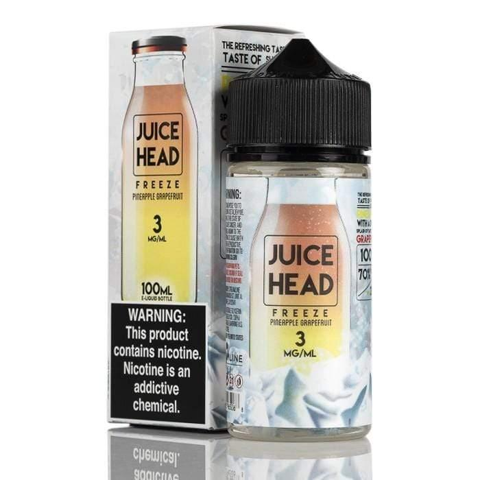 Juice Head Freeze - Iced Pineapple Grapefruit 100ml - Downtown Vapoury
