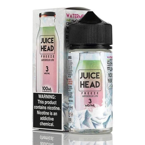 Juice Head Freeze - Iced Watermelon Lime 100ml - Downtown Vapoury