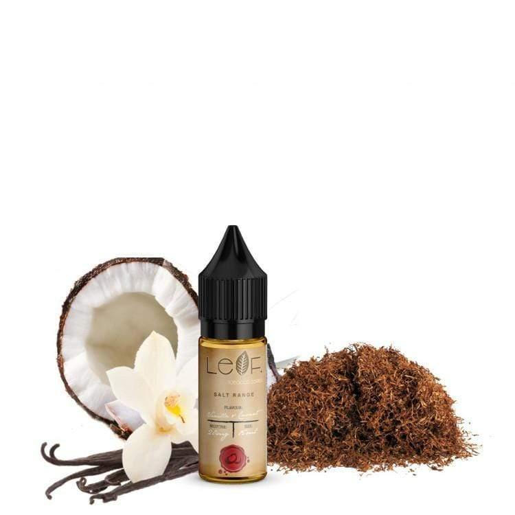 Cloud Flavour - Leaf: Vanilla & Coconut Salts 30ml