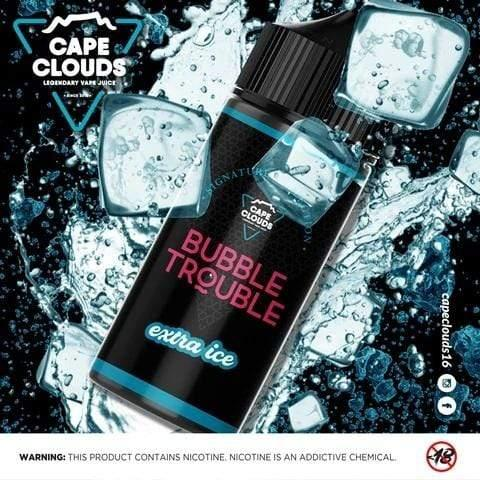 Cape Clouds - Bubble Trouble Extra Ice 120ml