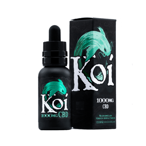 koi Watermelon Green Apple Sour 1000MG