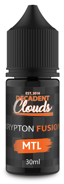 Decadent Clouds Krypton Fusion Mtl 30ml - Downtown Vapoury