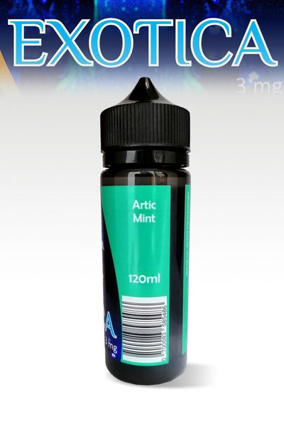 Exotica Artic Mint 120ml - Downtown Vapoury