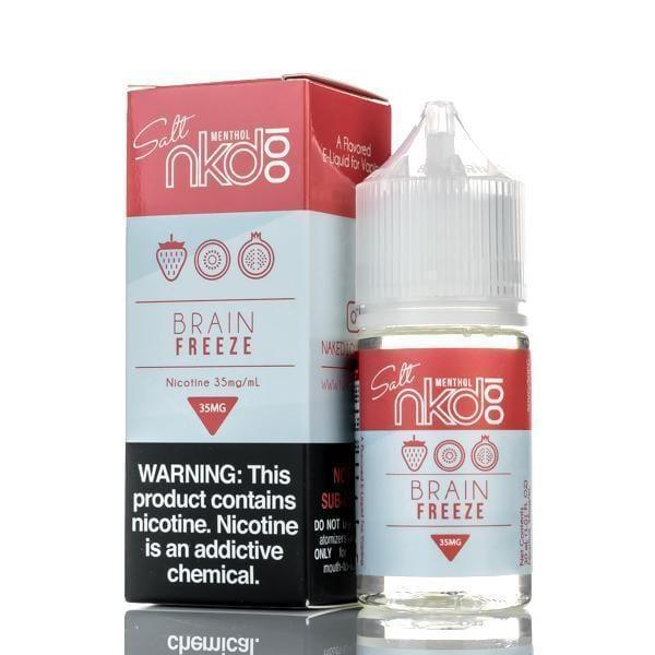 NKD 100 SALT E-LIQUID - BRAIN FREEZE - 30ML - Downtown Vapoury