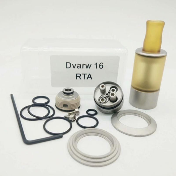 Dvarw 16 MTL RTA 16mm Styled 1:1 Clone - Downtown Vapoury