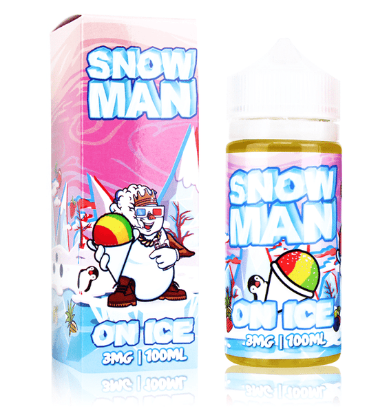 Snow Man on Ice Juice Man E Liquid 100ML - Downtown Vapoury