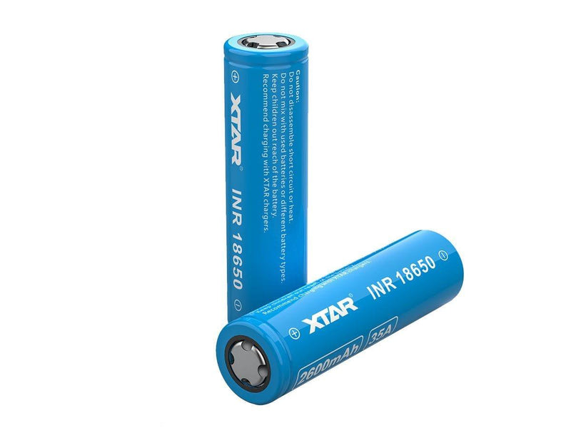 Xtar 18650 Molicel 35A 2600mAh Battery - Downtown Vapoury