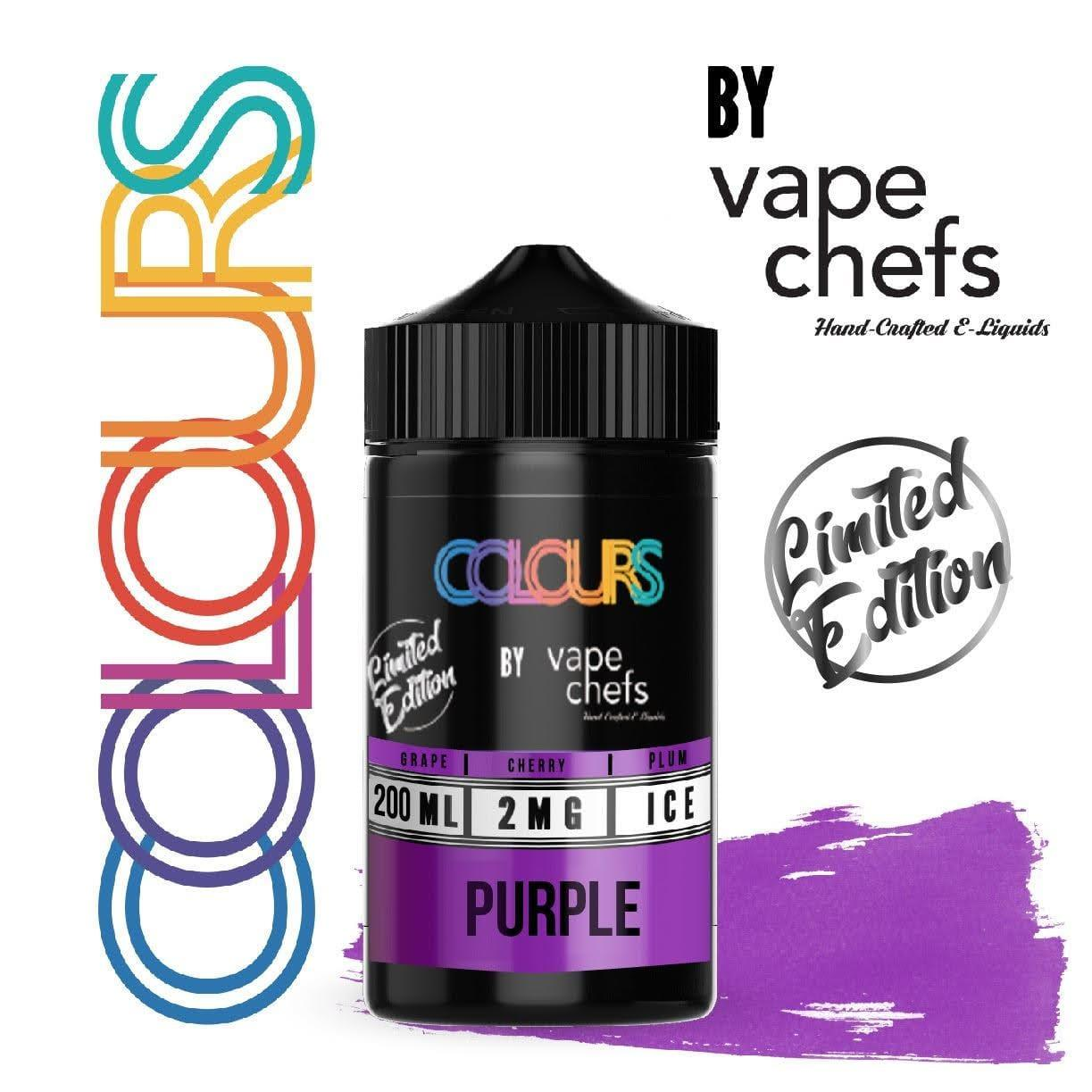 Colours By Vape Chefs Grape 200ml