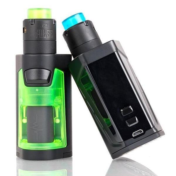 The Vandy Vape PULSE DUAL 220W Squonk Starter Kit