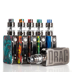 Voopoo Drag 2 Platinum 177W TC Kit with Uforce T2 Tank - Downtown Vapoury