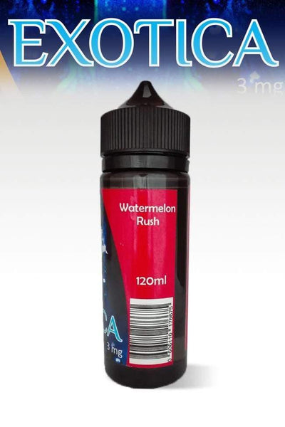 Exotica Watermelon Rush 120ml - Downtown Vapoury