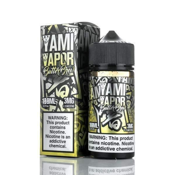 YAMI VAPOR - BUTTER BREW 100ml - Downtown Vapoury