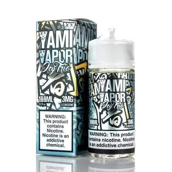 YAMI VAPOR - ICY TRIO 100ml - Downtown Vapoury