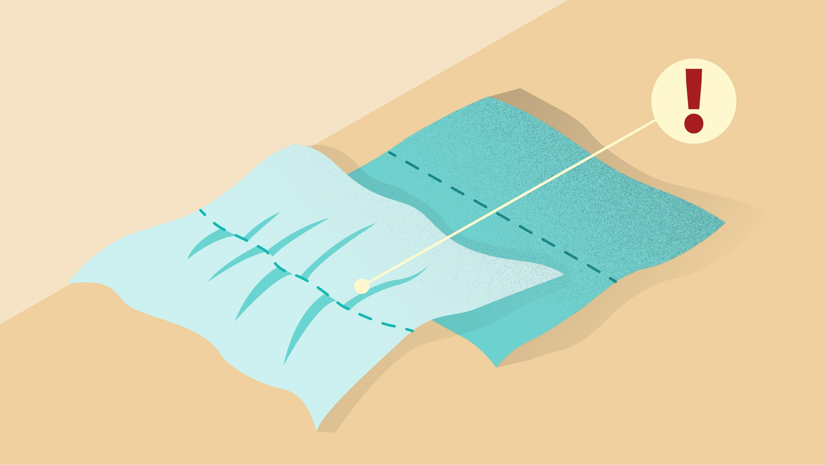 Seam gathering/puckering is also a common sewing machine problem. | sewing tutorial © Singer® Hong Kong