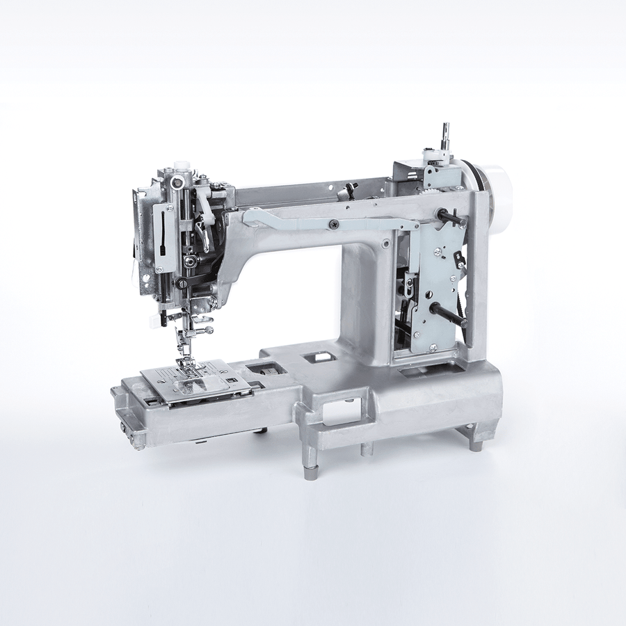 Heavy metal frame of Fashion Mate™ 3337 sewing machine. Fashion Mate™ 3337 車縫機的重金屬機架