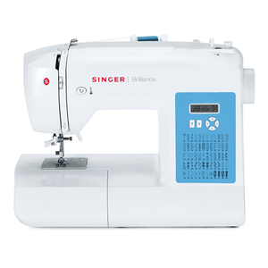 SINGER® Brilliance™ 6160 electronic sewing machine. 勝家® Brilliance™ 6160 電子縫紉機