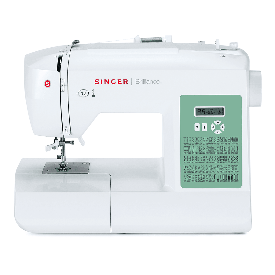SINGER® Brilliance™ 6199 electronic sewing machine. 勝家® Brilliance™ 6199 電子縫紉機