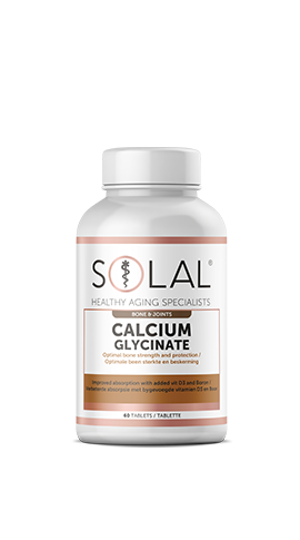 Solal Calcium Glycinate (With boron and vitamin D3)