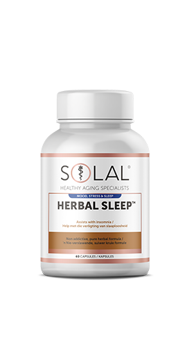 Solal Herbal Sleep™ (With valerian, passion flower and corydalis)