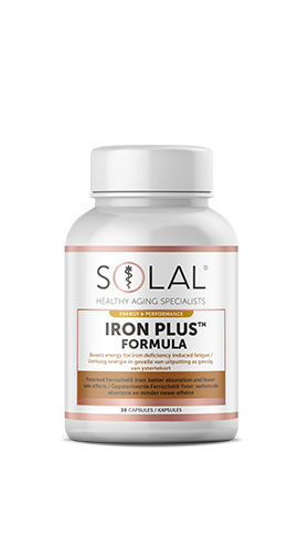 Solal Iron Plus™ (Contains patented Ferrochel®)