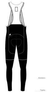 Black Fleece Bib Tights/Knickers