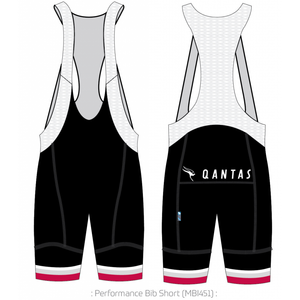 Qantas Retro Roo II PERFORMANCE Bib Shorts