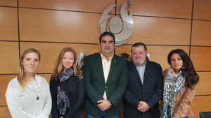 Meeting with ACOSOL, our local water board, Marbella, Apr 2018